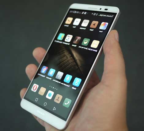 Huawei launch the Mate 8 Globally   CES