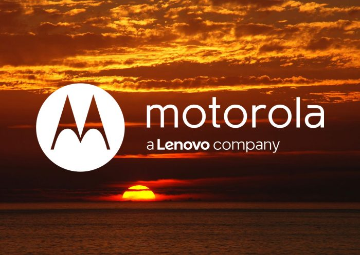 Motorola Lenovo sunset