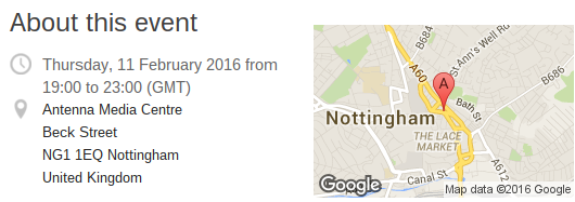 Honor Meetup in Nottingham, come on down!