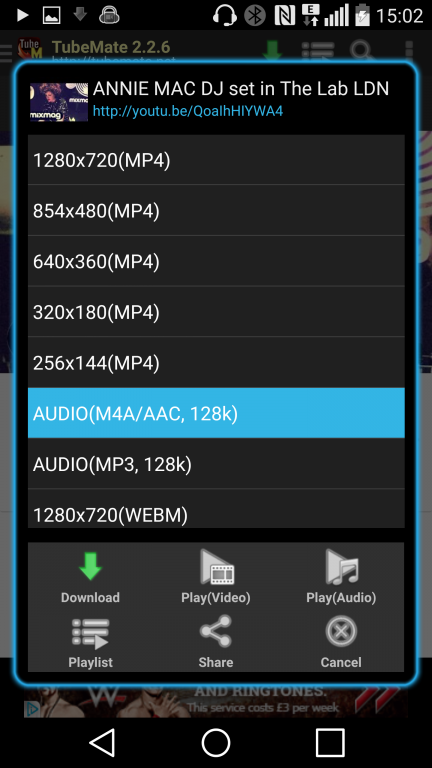 how to download audio from video