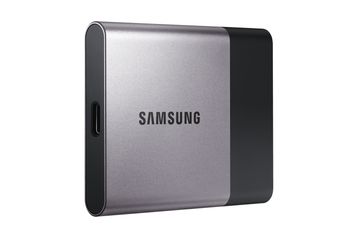 Samsung Electronics Announces Portable SSD T3