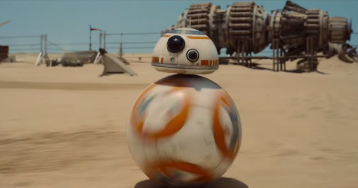 Something about the new Star Wars movie and BB8 ringtones