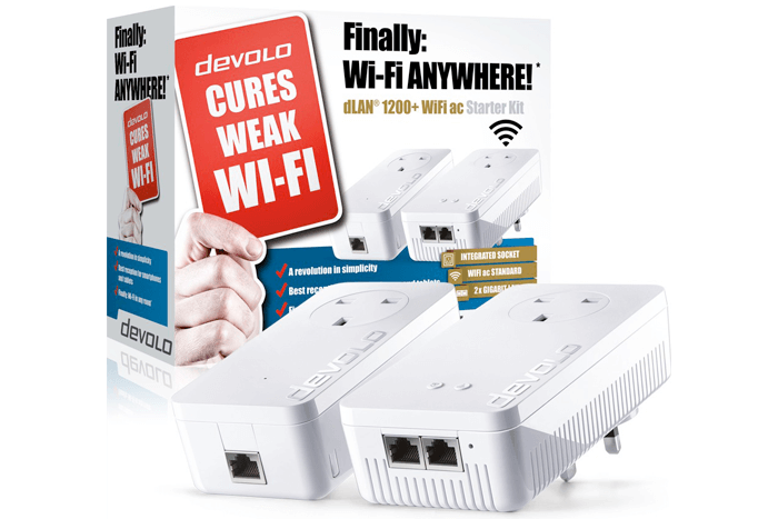 devolo dLAN 1200+ WiFi ac Powerline Adaptor   review