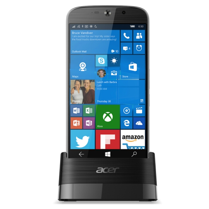 Acer release a new Windows 10 phone   CES