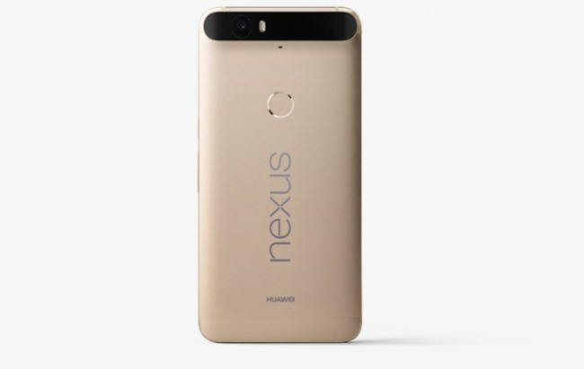 Nexus 6P now in gold