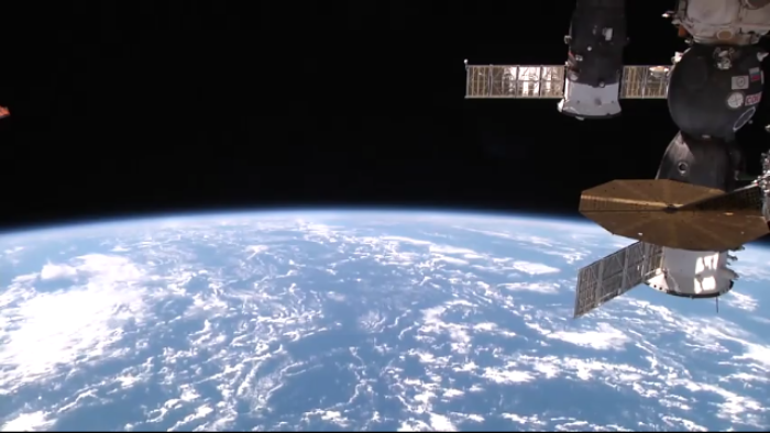 See the earth from ISS, right now on your phone