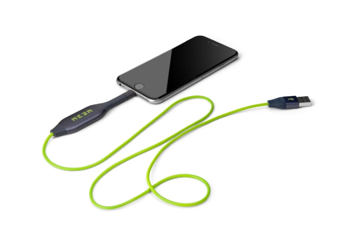 MEEM   A clever charging cable that will keep your memories safe