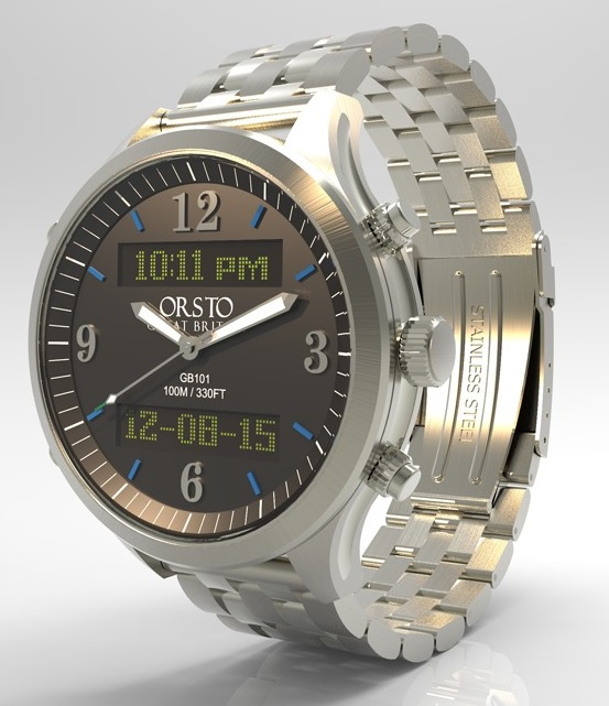 ORSTO Smartwatch with 7 months battery life revealed.