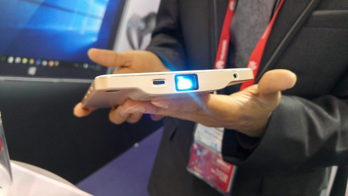 The in built smartphone projector is back, and this time it works. A chat with Akyumen