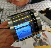 FlexEnable   A colour screen on your wrist, its here at MWC