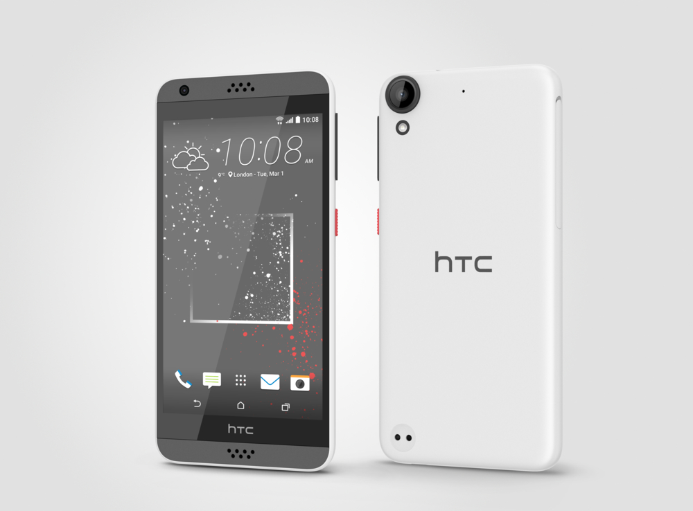 The HTC Desire 530, 630 and 825 at Mobile World Congress