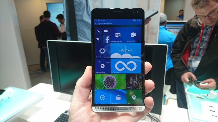 MWC   HP Elite x3 Hands on