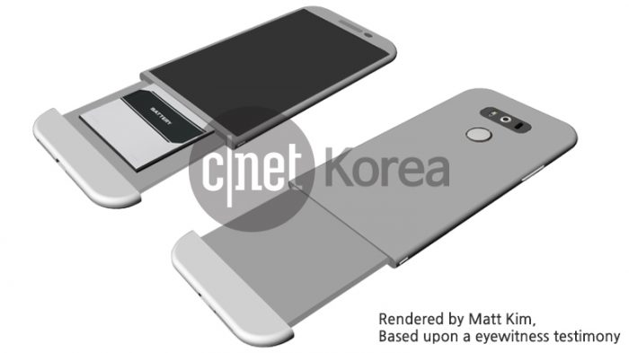 Early images of the LG G5 Magic Slot accessories