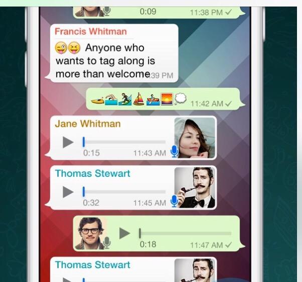 WhatsApp grabs one billion users