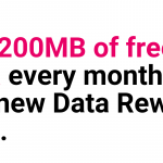 Three gives 200MB free data to mobile broadband customers