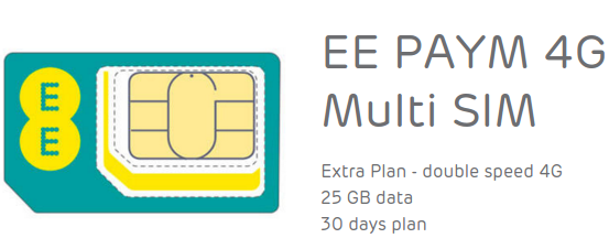 How does 25GB for £15 a month sound? Come on in, friends