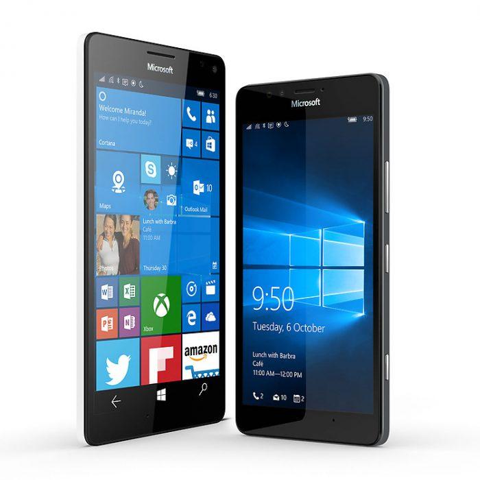 Windows 10 Range Lumia 950 950XL jpg