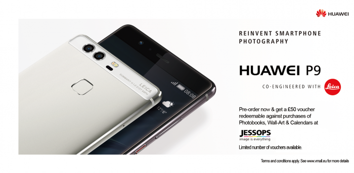 Huawei P9   Pre order goodness with £50 of vouchers