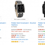 Pebble Smartwatches down in price today
