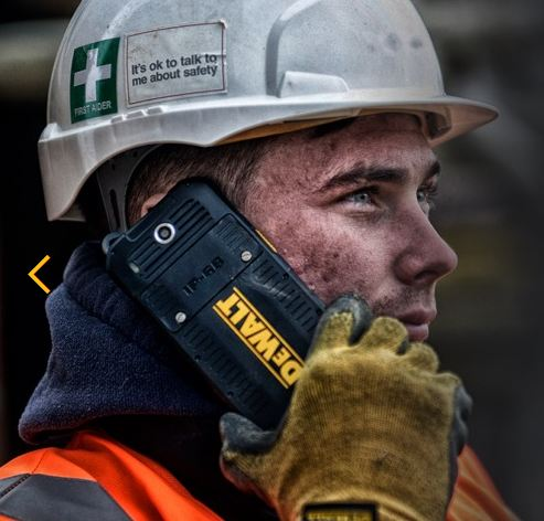 DEWALT announce a tough phone too