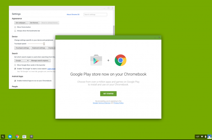 Android apps finally heading to Chrome OS?