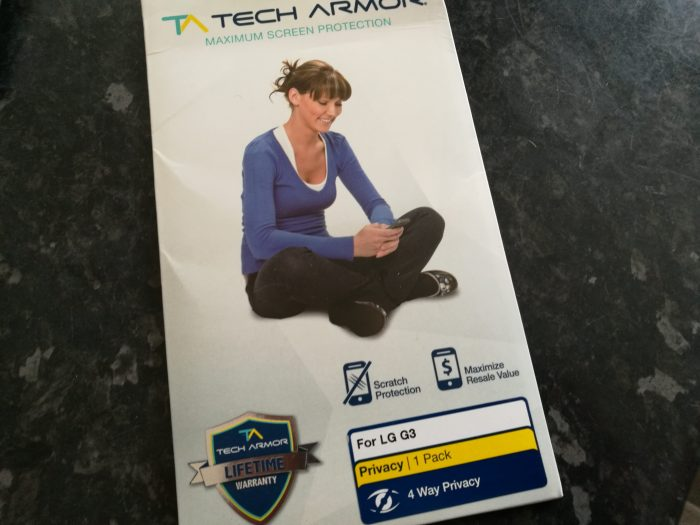 Tech Armor Privacy Screen Protector   Review