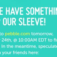 Pebble announcement