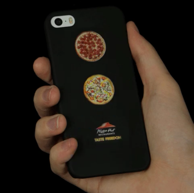 Make your iPhone smell of pizza