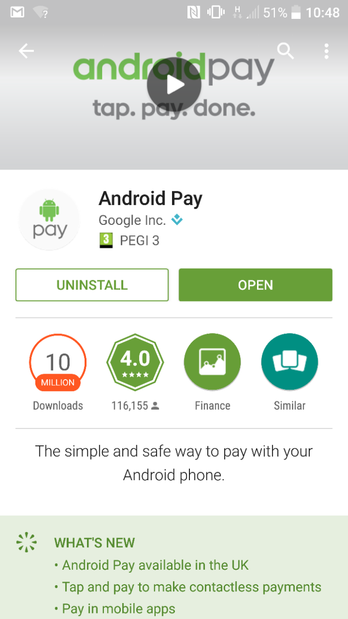 Getting started with Android Pay   A 6 step guide