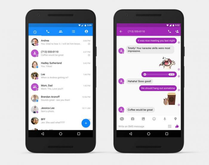 Facebook Messenger Now Does SMS