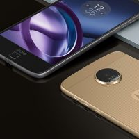 Moto Z Front and Back