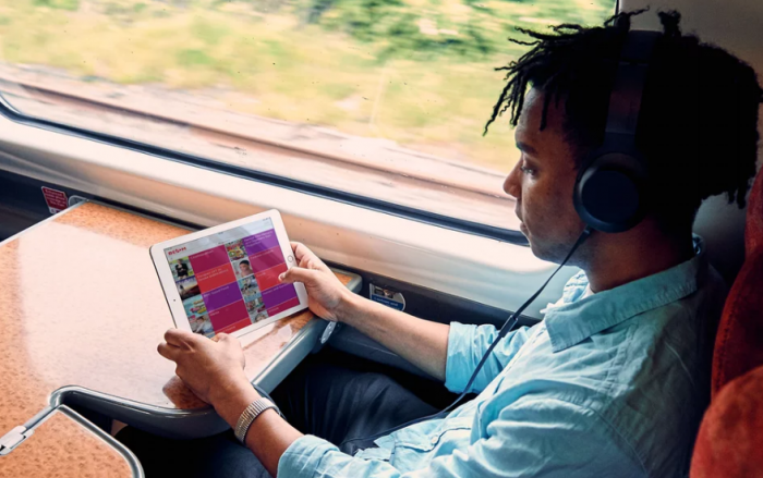 Virgin add entertainment to your train journeys