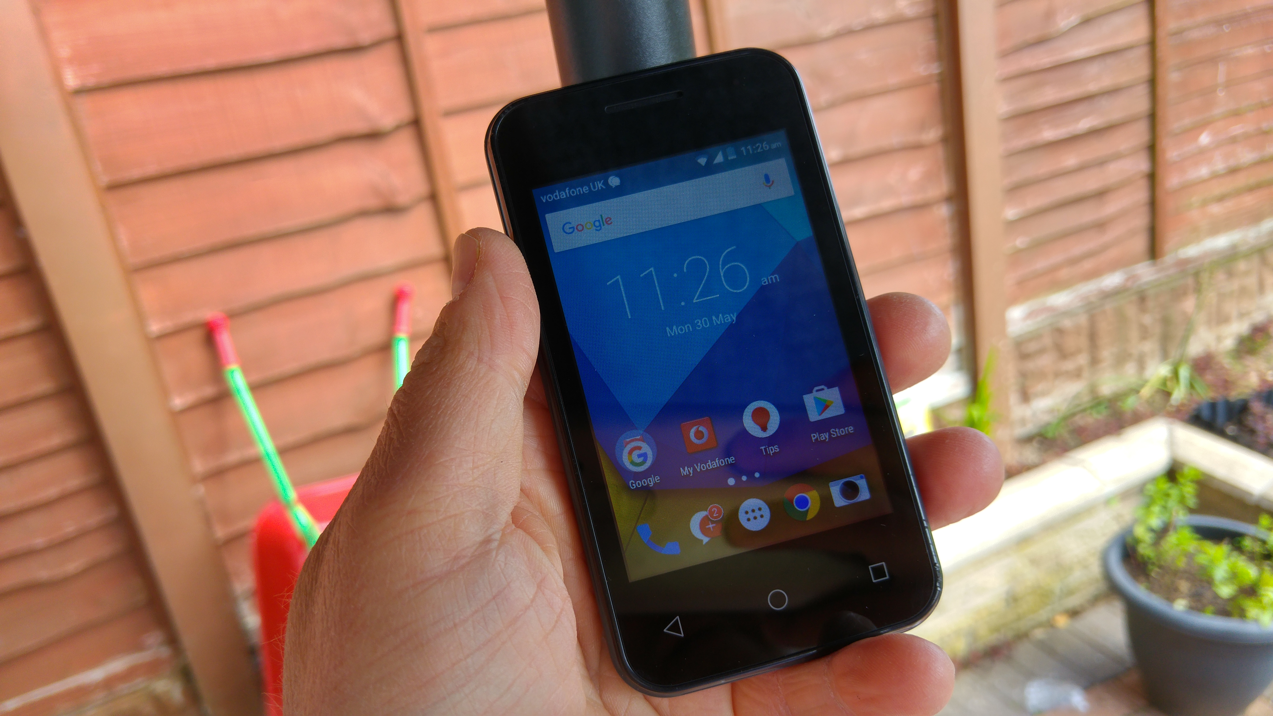 release date 7bed7 f9740 Vodafone Smart first 7 - Review - Coolsmartphone