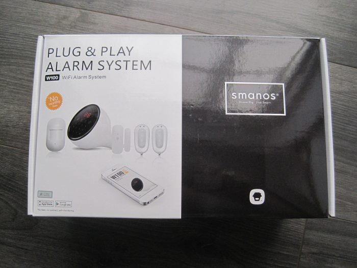 Smanos W100 WiFi wireless intruder alarm   Review