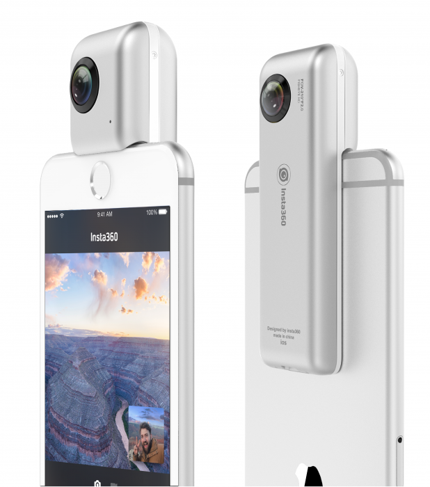 Insta360 Nano brings 360 degree video to the iPhone