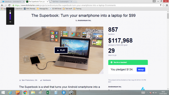 Superbook   making your Chromebook redundant since July 2016