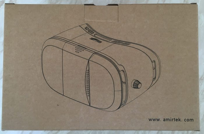 VR on the iPhone with the Amir VR Glasses