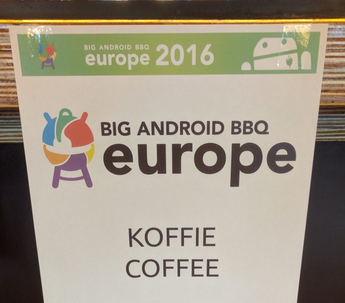 Big Android BBQ Europe 2016   Code Kitchen