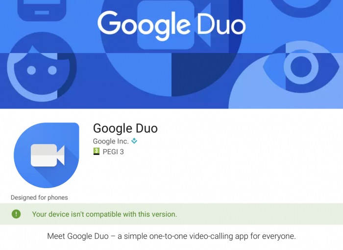 Google Duo coming soon, maybe...