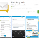 If you can't beat them join them. BlackBerry launch Hub+