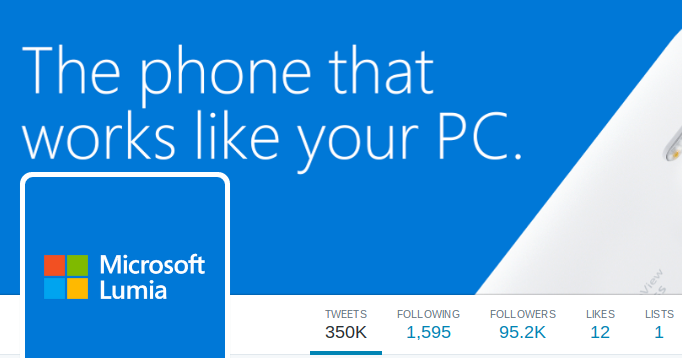 Microsoft close Lumia Twitter accounts
