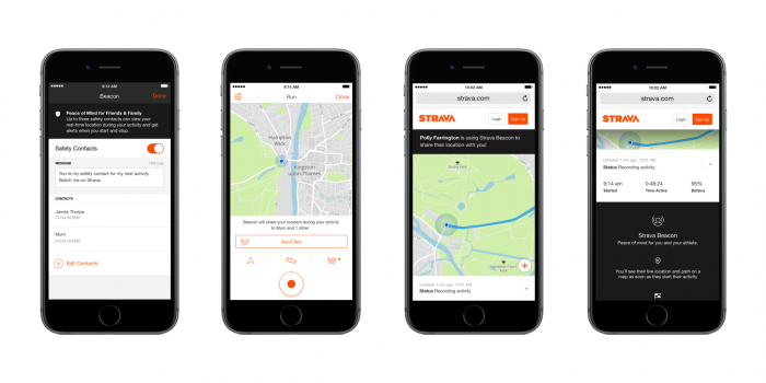 New safety feature getting added to Strava   Beacon