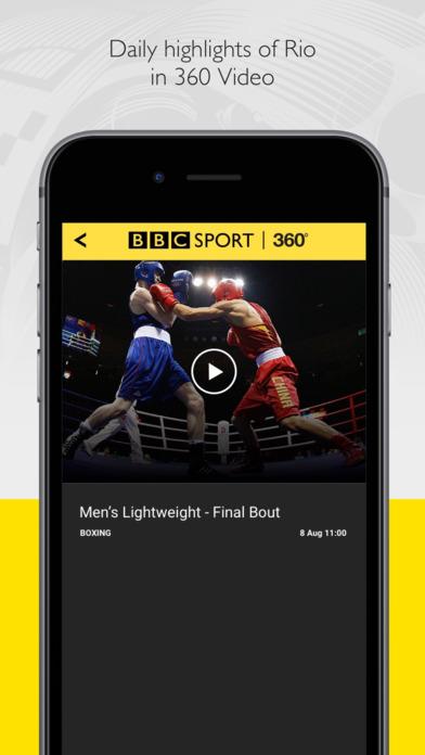 BBC go 360 for Rio 2016