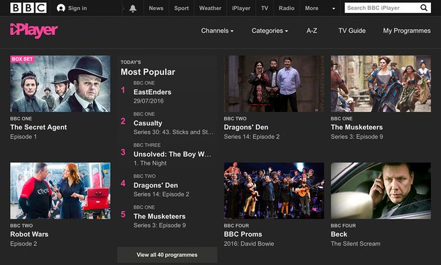 BBC iPlayer viewer? Youll need a TV licence.