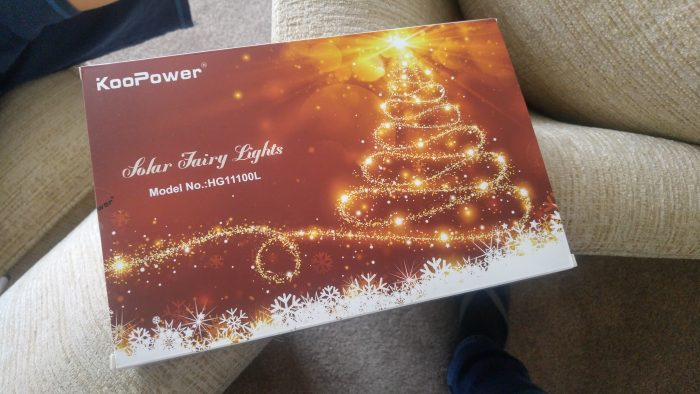 Koopower Solar Fairy Lights   Review