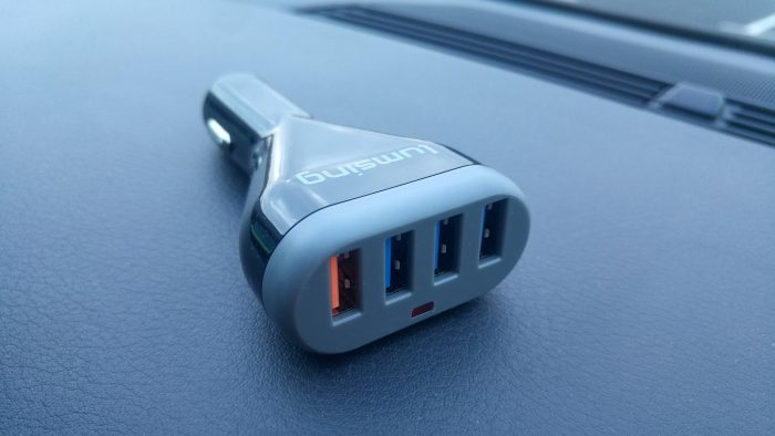 Lumsing 4 Port USB Car Charger   Review