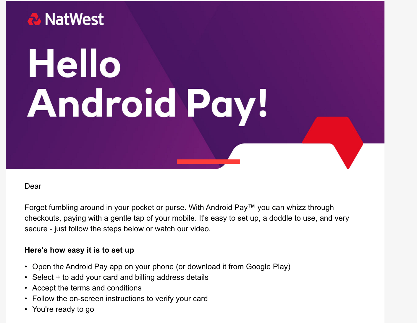 How To Write Check Amount Natwest Gets Abreast Of Android Pay