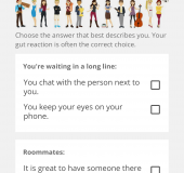 Find out more about yourself and your friends   Personality Match