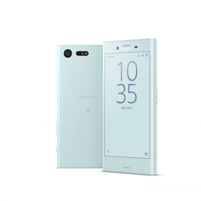 Sony Xperia X Compact Mist Blue Group