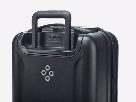 A smart suitcase. Yes, a smart suitcase.